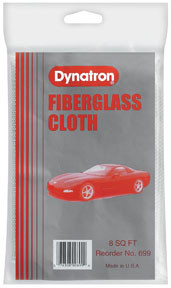 Dynatron Bondo 699 Dynatron Fiberglass Cloth, 8 Sq. Ft.