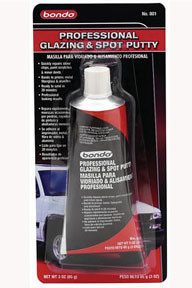 Dynatron Bondo 801 Bondo Professional Glazing & Spot Putty, 801, 3.0 oz