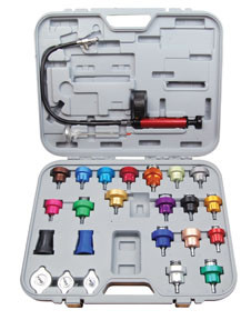 ATD Tools 3302 25 Pc. Master Cooling System Pressure Test Kit