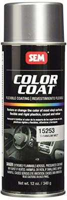SEM Paints 15253 Color Coat - Titanium Metallic Aerosol
