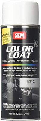 SEM Paints 15313 Color Coat - White Aerosol