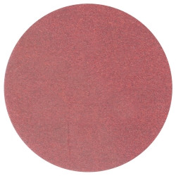 "3M 01116 Red Abrasive Stikit Disc, 6"", P80D, 100 Per Roll"