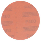 "3M 01218 Red Abrasive Hookit Disc, 6"", P400 Grit, 50 Per Box"