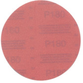 "3M 01222 Red Abrasive Hookit Disc, 6"", P180 Grit, 50 Per Box"