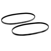 "Ammco 906921 6.5"" Non Vented Rotor Silencer Band (2 Pack)"