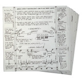 Electronic Specialties 186 Hands On-Line Electrical Training Cards