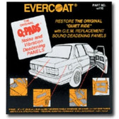 Fibreglass Evercoat 117 Q-Pads Sound Deadener 16 x 16 4/pk