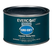 Fibreglass Evercoat 408 Euro-Soft Glazing Putty, Quart