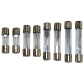 JT&T 2422F 8 Piece 9 thru 30 Amp SFE Glass Fuse Kit