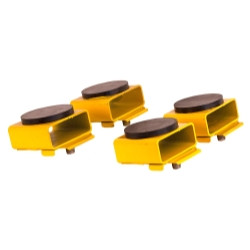 Rotary FJ6139BK Set of Four Round Polymer Adapters