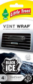 Little Trees Vent Wrap 4-Pack Black Ice