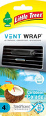 Little Trees Vent Wrap 4-Pack Caribbean Colada