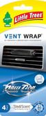 Little Trees Vent Wrap 4-Pack New Car Scent