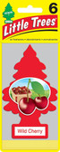 Little Trees Air Fresheners 6-Pack Wild Cherry