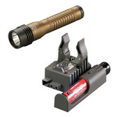 Streamlight 74393 Strion HL 120V/DC Flashlight w/Piggyback Charger - Mud Brown