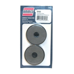 Ammco 909183 Non Asbestos Replacement Silencer Pads (2 Pack) for Brake Lathe