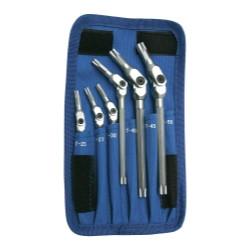 Bondhus 00015 Chrome Torx Wrench Set, 6 Pieces