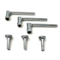 CTA Tools 2218 Small Engine Valve Tappet Adjusting Tool Kit, 6 Piece