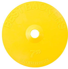 "GL Enterprises 1407 Best Backers, 7"" Backing Pad"