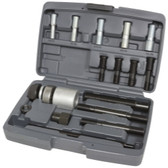 Lisle 53760 Harmonic Balancer Installer Kit, 12 Adapters