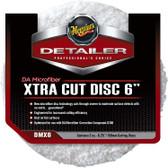 "Meguiars DMX6 6"" Microfiber Xtra Cutting Disc - 2 Pack"