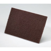 "Norton 58000 Bear-Tex Maroon 6"" x 9"" Primer Prep Scuff Pads, (Case of 20)"