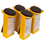 Rotary FJ6133BK Extended Height Adapters with Rubber Pad for Lifting Equipment