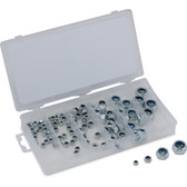 Titan Tools 45243 100 Piece Metric Nylon Locknut Assortment
