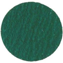 """The Main Resource MI436-25 3"""" Green Zirconia Disc - 50 Grit"""