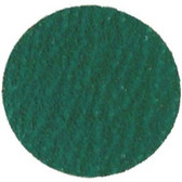 "The Main Resource MI436-25 3"" Green Zirconia Disc - 50 Grit"