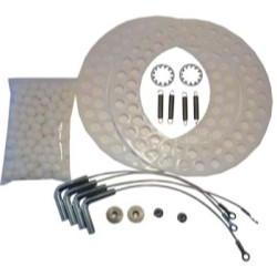 The Main Resource SS6980 Medium Duty SS Turnplate Repair Kit - Brake Lathe