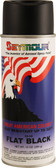 Seymour 43018 Great American Colors Multi-Purpose Spray Paint, Flat Black