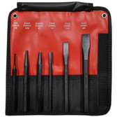 Mayhew 31406 6 - Piece Hardened Steel Punch & Chisel Set