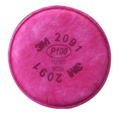 3M 7000 Particulate Filter, P100