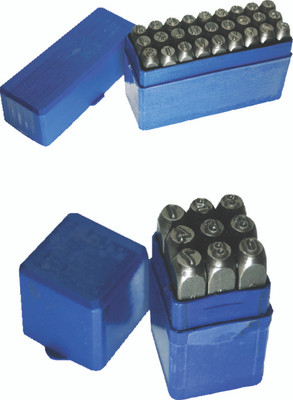 "ATD Tools 96023 1/4"" Master Stamp/Punch Set"