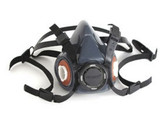 Gerson Company 9250 Advanced Silicone Rubber Half Mask Respirator, Medium