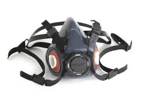 Gerson Company 9350 Advanced Silicone Rubber Half Mask Respirator, Large