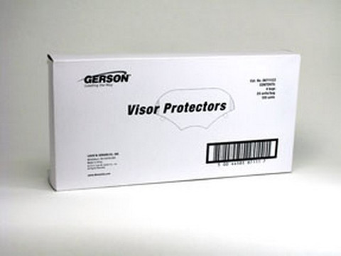 Gerson Company 8711122 Protective Lens Film Peel-Offs for Respirator