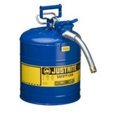 "Justrite 7250320 Hose, 1"", Yellow, 5 Gallon, 19 Liter"