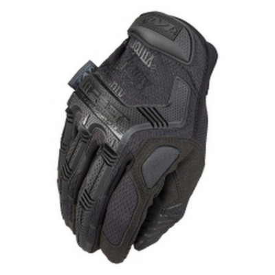 Mechanix Wear MP3-F55-008 TAA Compliant Mpact3 Work Glove, Covert Black, Small