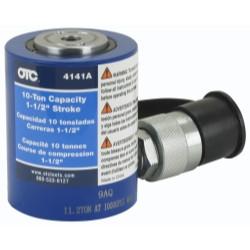 """OTC 4141A 10 Ton Hydraulic Single Acting """"Shorty"""" Cylinder"""