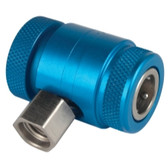 Robinair 18122 Blue Low-Side Service Coupler For AC1234-6