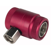 Robinair 18123 Red High-Side Service Coupler For AC1234-6