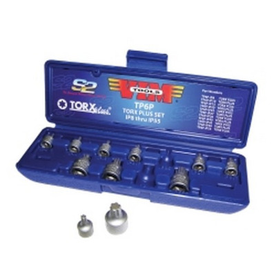 VIM Tools TP6P Torx Bit Plus Driver Set, 11 Pieces