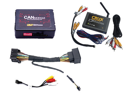 Crux WVIGM04 Wi-Fi Audio/Video Interface For Select Gm/Chevy Lan 29 Bit Vehicles