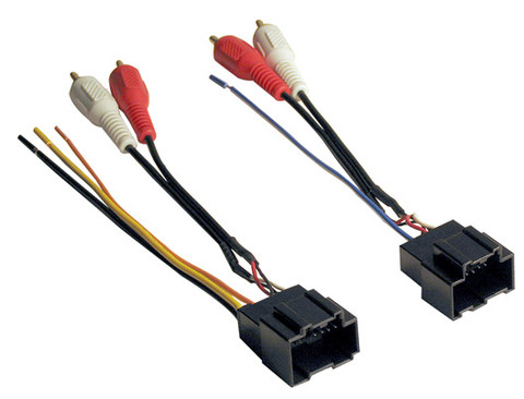 American International GWH46PIO 2006-2008 Pioneer With RCA Adapter Wire Harness