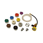 Waekon Industries 62868 CST Cooling System Test and Adapter Kit