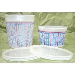 E-Z Mix 70016L Disposable Pint Mixing Cup Lids 100/case