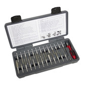 Lisle 71750 27 Piece LED Quick Change Terminal Tool Set