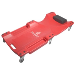 "Sunex Tools 8511 40"" 6 - Wheel Plastic Red Creeper"